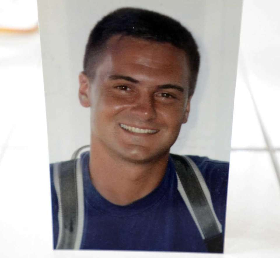 Joseph Gerard Hunter, 31, was a firefighter with