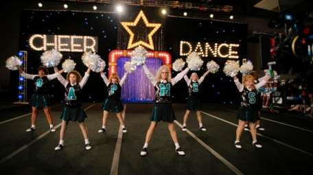 """""""Poms,"""" the story of a team of"""