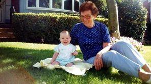 Jenna Rose Cavuto, age 1, with Grandma Dorothy