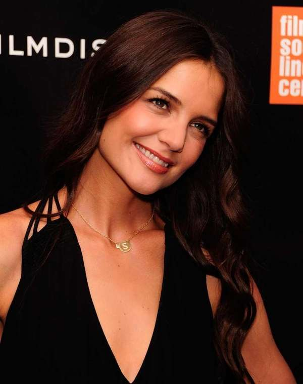 Katie Holmes attends the premiere of her new