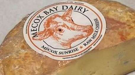 The recalled Mecox Sunrise raw milk cheese from