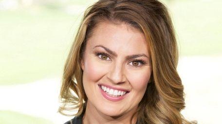 CBS Sports golf reporter Amanda Balionis.