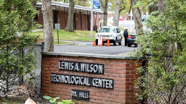 Security at the entrance to the Wilson Technological