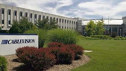 Cablevision offices in Bethpage.