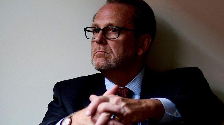John Salveson, a clergy sex-abuse victims' advocate.