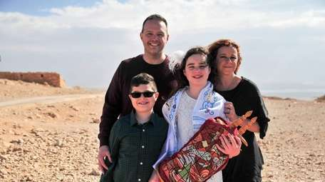 Lily Warshaw of Sr. James traveled to Israel
