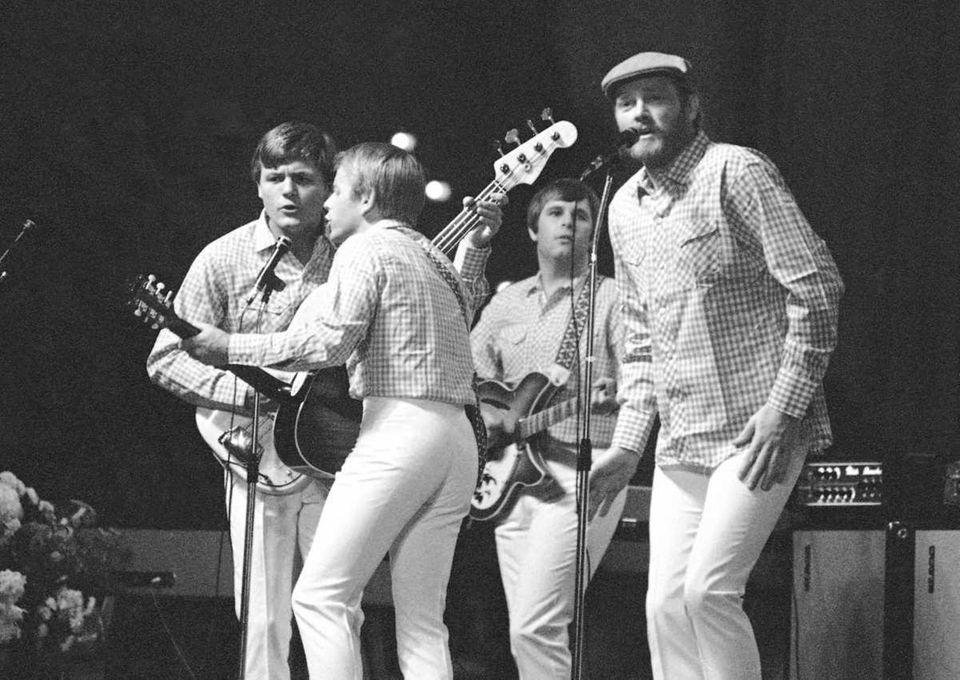 The Beach Boys from left: Al Jardine, Mike