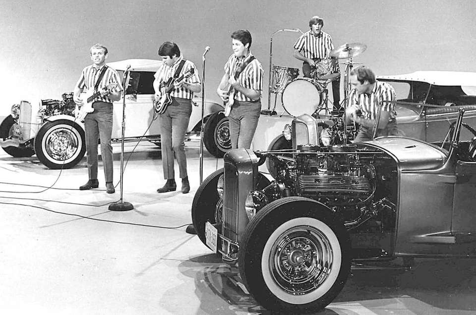 The Beach Boys play on the Ed Sullivan