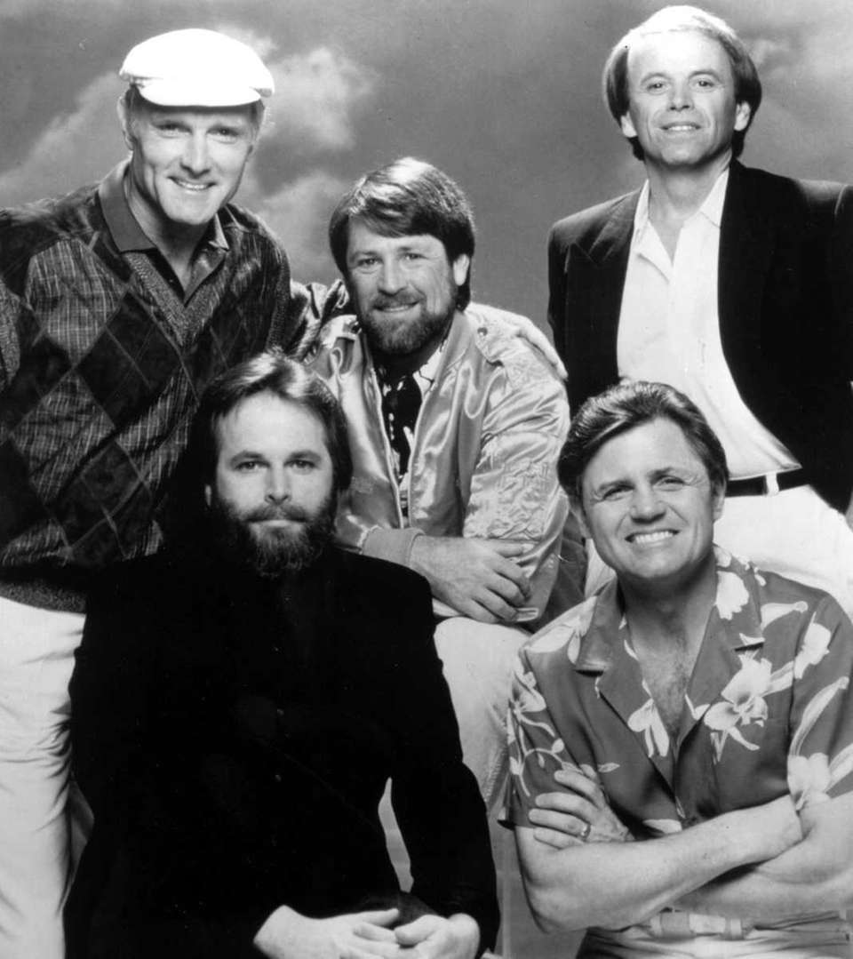 The Beach Boys, from left, are Mike Love,