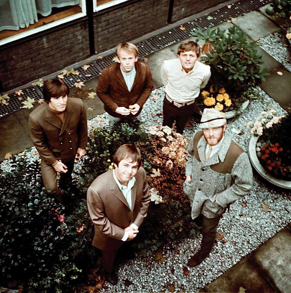The rock and roll band the Beach Boys