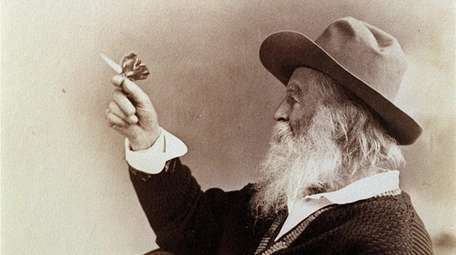 One of Walt Whitman's favorite photos has him