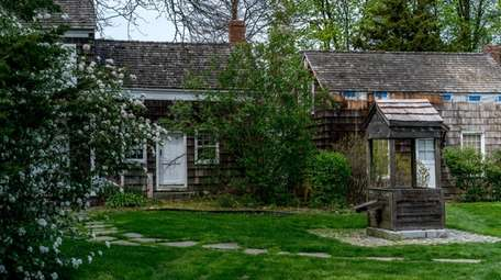 Walt Whitman's birthplace, in Huntington Station, in April