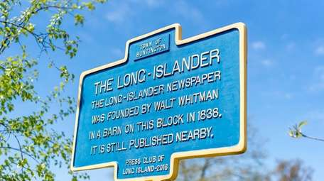 A historic marker identifies the birthplace of The