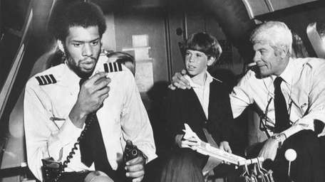 Pictured from left, Los Angeles Lakers Kareem Abdul-Jabbar,
