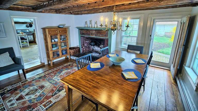 The three-story, six-bedroom Colonial recently earned recognition from