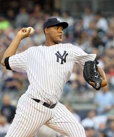 Ivan Nova #47 of the New York Yankees