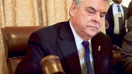 An undated file photo of Rep. Peter King.