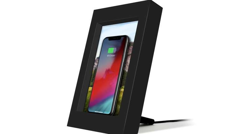 Twelve South's PowerPic wireless charger comes with a