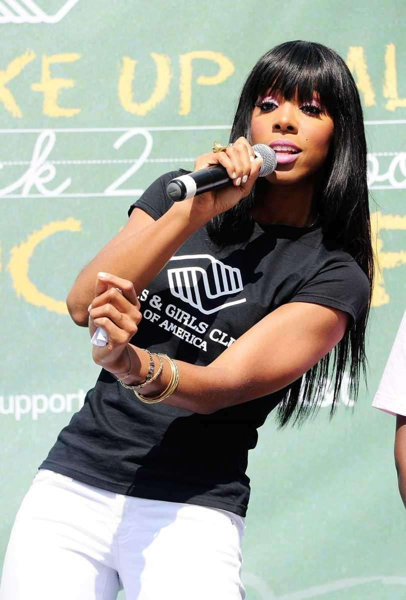 Kelly Rowland attends the The Boys & Girls
