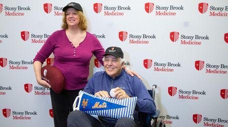 Deborah Barbieri, who donated a kidney to Mets