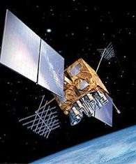 A Block IIR GPS Satellite, one of the