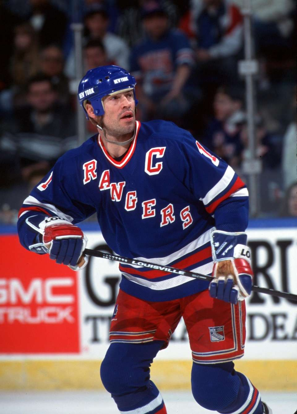 MARK MESSIER, Hockey After a three-season stint in
