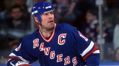MARK MESSIER, Hockey After a three-season stint in