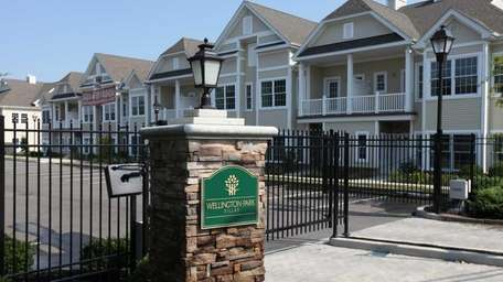 The vacant Wellington Park Villas in Amityville is