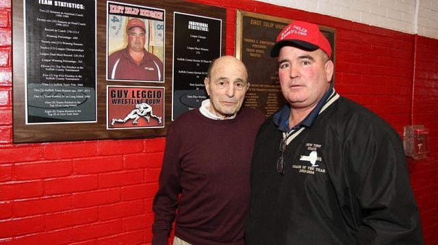 Guy Leggio and his father Jumper Leggio in