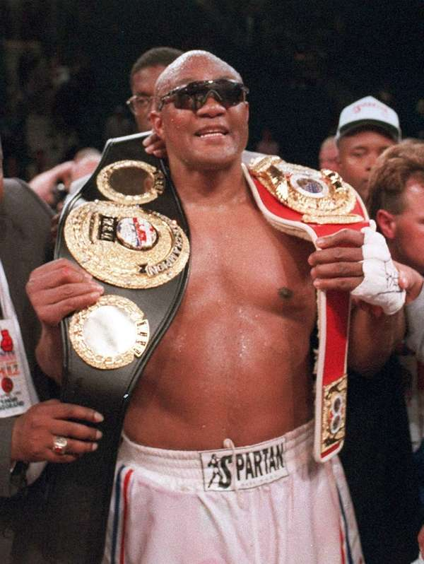 George Foreman in 1995.