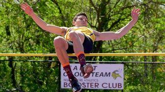 Michael McKillop of Sayville wins the boys high