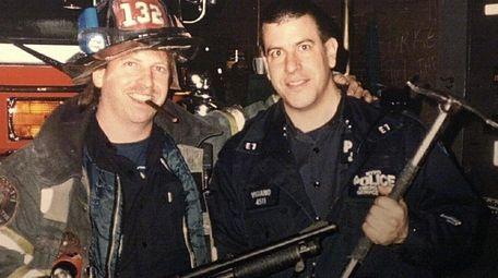 Retired Fire Captain John Vigiano lost both his