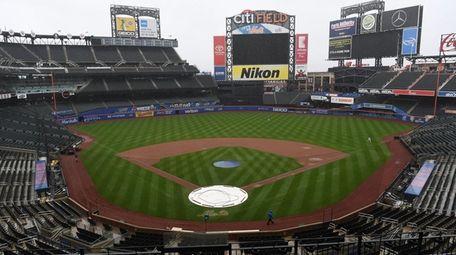 Heavy rain at Citi Field postponed Sunday's game