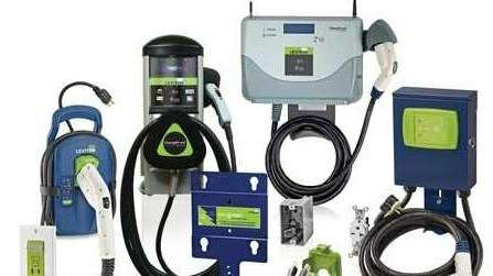 Leviton's Evr-Green line of electric car charging devices.