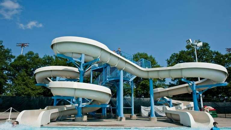 Waterslides: Into the pool the fast way | Newsday