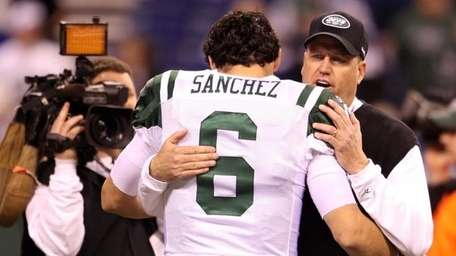 Mark Sanchez and Rex Ryan