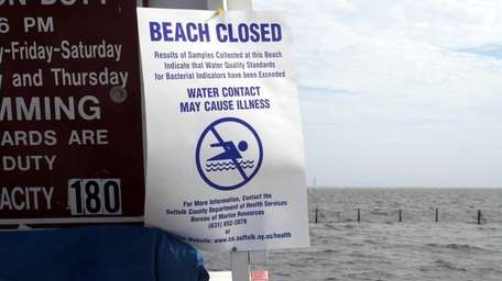 A file photo of a sign at Bayport