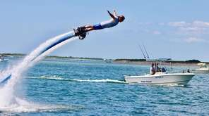Operating out of Windswept Marina, Flyboard Hamptons will