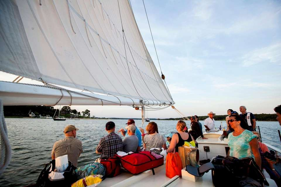 Go sailing without having to do any of