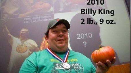 Billy King, winner of the 2010 Great Long
