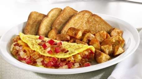 Denny's offers a 55+ menu in addition to