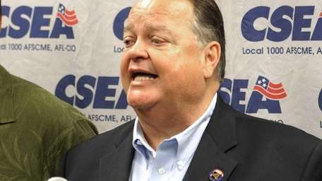 CSEA president Danny Donohue in this file photo.