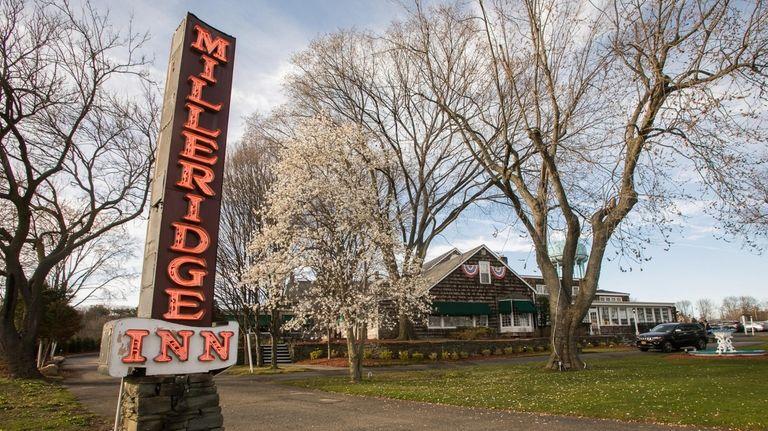 The Milleridge Inn in Jericho on April 21,