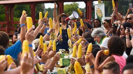 "Harbes Family Farm hosts six ""produce"" festivals a"