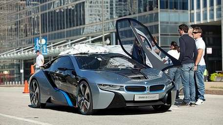BMW i8 Concept in Chicago.