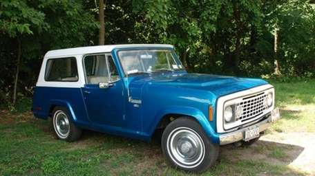 THE CAR AND ITS OWNER 1972 Jeep Commando