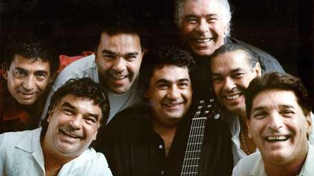 The Gipsy Kings, a French flamenco group who