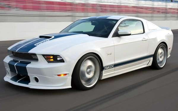 The 2011 Mustang Shelby GT350.