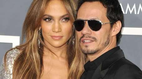 They may be splitsville but Marc Anthony's and