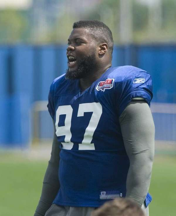 New York Giants defensive tackle Linval Joseph #97